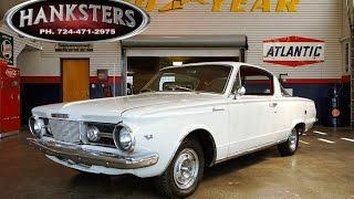 1965 Plymouth Barracuda w/ 273ci Mopar engine, Torqueflite 904 transmission - Hanksters