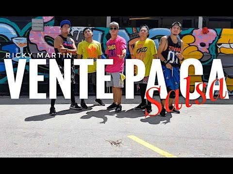 VENTE PA CA (Salsa Version) by Ricky Martin   Zumba   Salsa   Kramer Pastrana