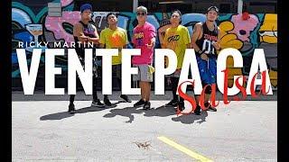 VENTE PA CA (Salsa Version) by Ricky Martin | Zumba | Salsa | Kramer Pastrana