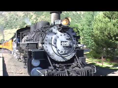 The Best Narrow Gauge Steam Railroad Run By's of 2011 & 2012, Part 2