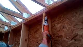 Building Better Using Atimberlok From Fastenmaster, Setting Trusses