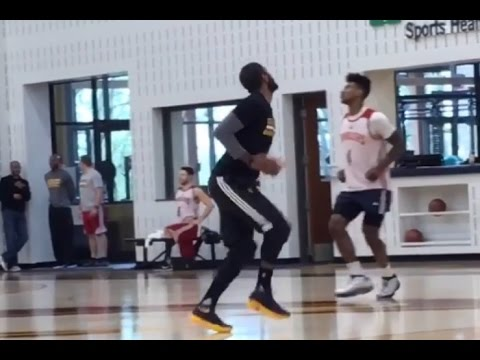 Kyrie Irving Running Man Challenge Cleveland Cavaliers Edition With Iman Shumpert!!!!