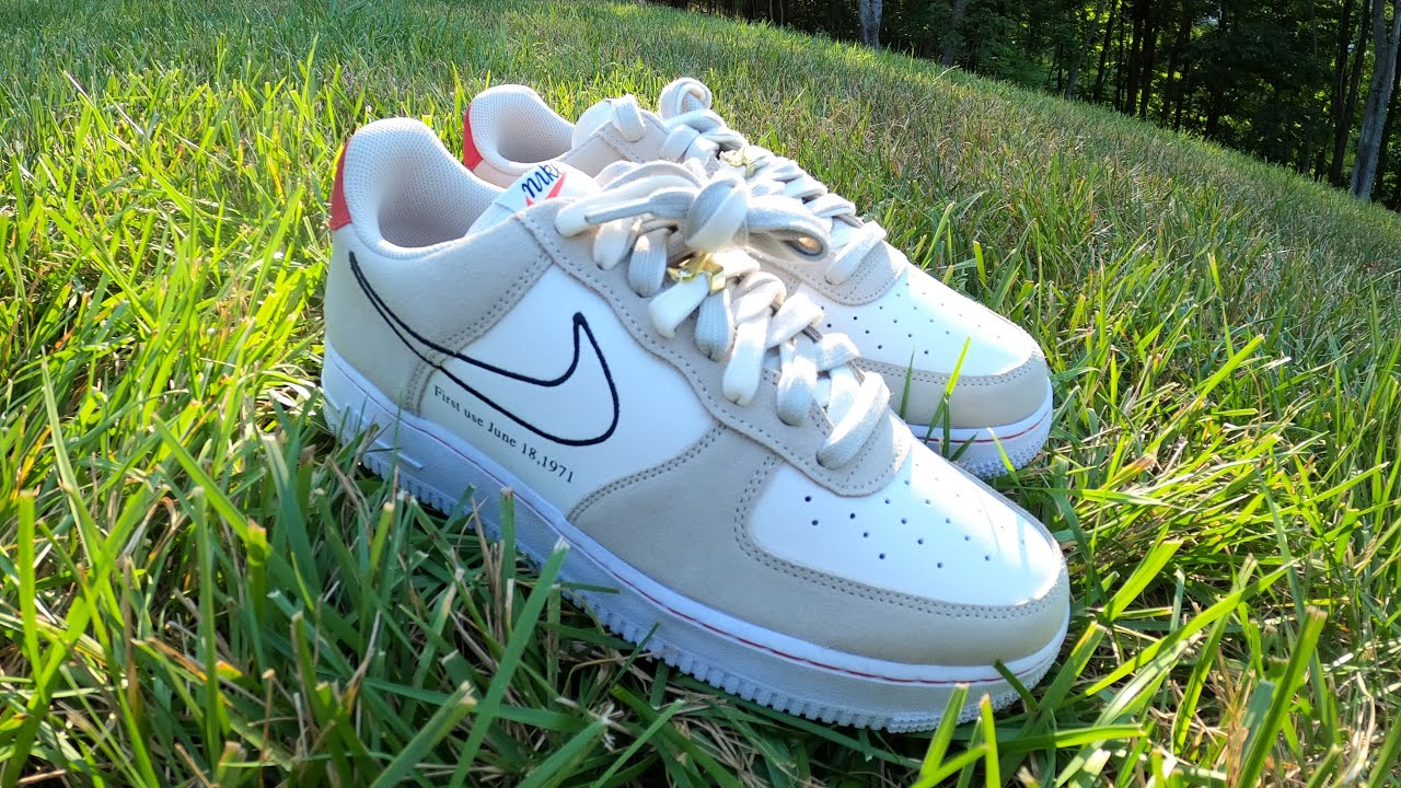 Air Force 1 '07 LV8 - First Use Pack - Light Stone - Sail - END ...