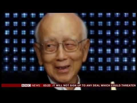 Raymond Chow passes away (1927 - 2018) (Hong Kong/(China) - BBC News - 3rd November 2018