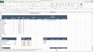 vLookUp and Federal Withholding Tax