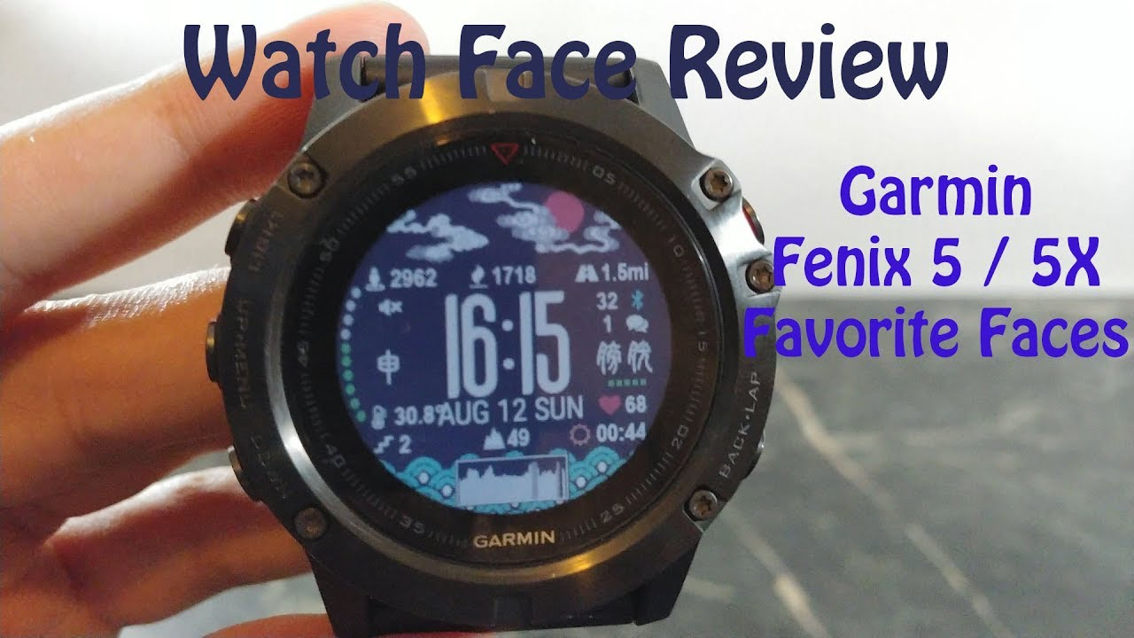 Garmin Fenix Watch Face Review Favorite Watch Faces For Gamin