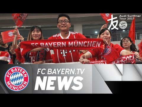 FC Bayern thrills Chinese Fans