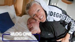 JIMMY BULLARD WRESTLED ME!!! | VLOG ONE | BOLTON