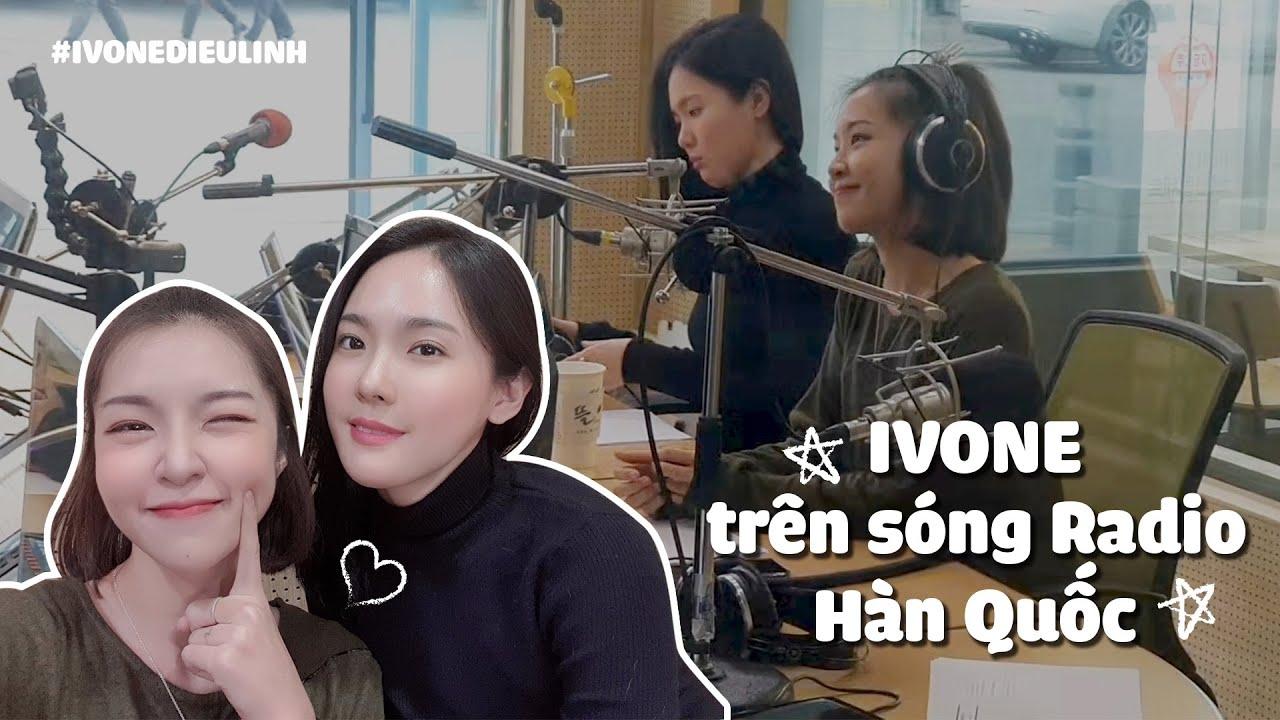 Mạnh dạn rap tiếng Hàn trên sóng radio của anh Mickey Kwangsoo ở Gyeonggi Hàn Quốc   Ivone Diệu Linh