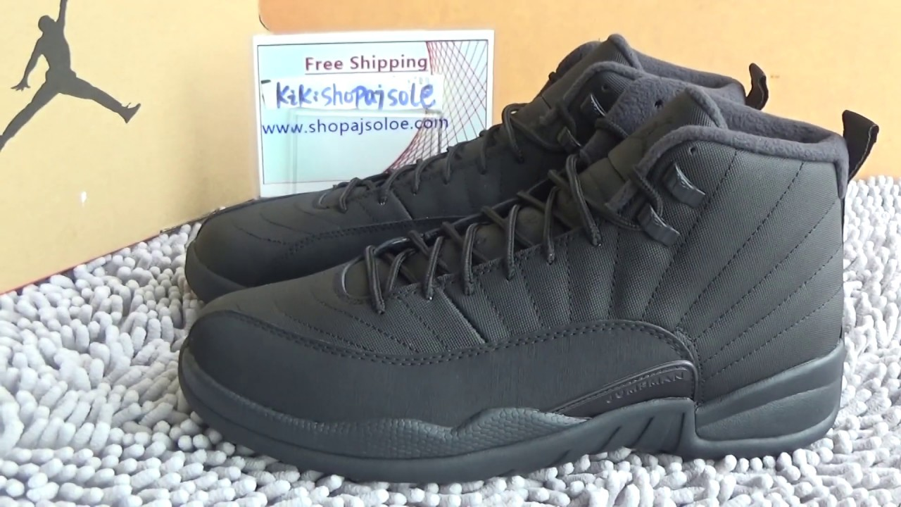 Authentic Air Jordan 12 Winterized Review from www.shopajsole.com ... b51f643dd