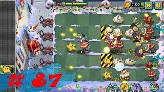 Растения против зомби 2 #87 ВЫЖИВАНИЕ Plants vs zombies 2