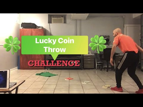 """PE At Home: """"Lucky Coin Throw"""" St. Patrick's Day Challenge"""