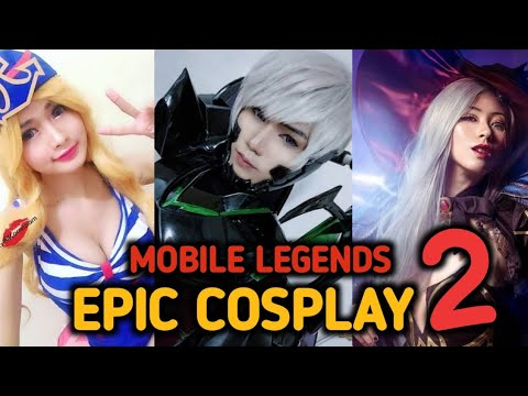 Epic Heroes Cosplay Part 2 - Mobile Legends