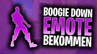How to get the BOOGIE DOWN EMOTE FREE in Fortnite!