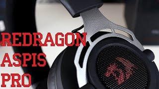 Обзор игровых наушников Redragon Aspis Pro - Профессиональная гарнитура за копейки