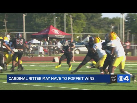 Cardinal Ritter High School accused of using ineligible player during football game