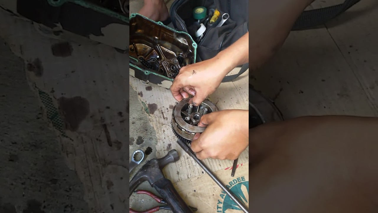 how to repair the clutch of wave 100 honda youtubehow to repair the clutch of wave 100 honda