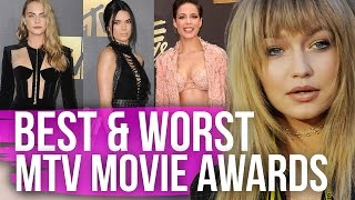 Best & Worst Dressed MTV Movie Awards 2016