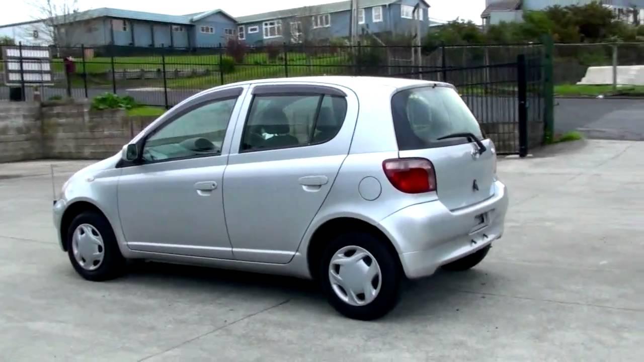 Toyota Vitz 2001 71k 1l Auto Youtube