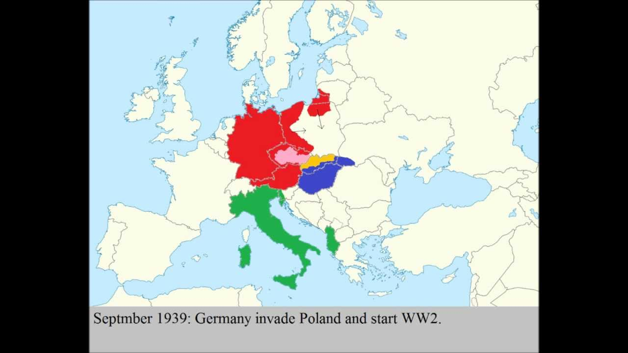 Europe PreWW YouTube - Germany map pre ww2