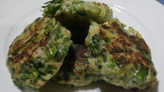 Chiken & Broccolini Patties