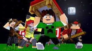O MELHOR ATAQUE DO BEDWARS !! - Minecraft (Com JazzGhost, Cherry, Spok e Dodo)