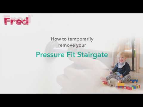 Watch the Fred Stair Pressure Fit Gate you-can-do-it video here