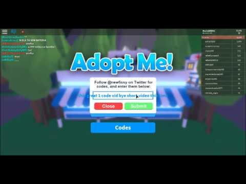 1 Code For Adopt Me To Get Bucks Youtube - 1 code for adopt me to get bucks