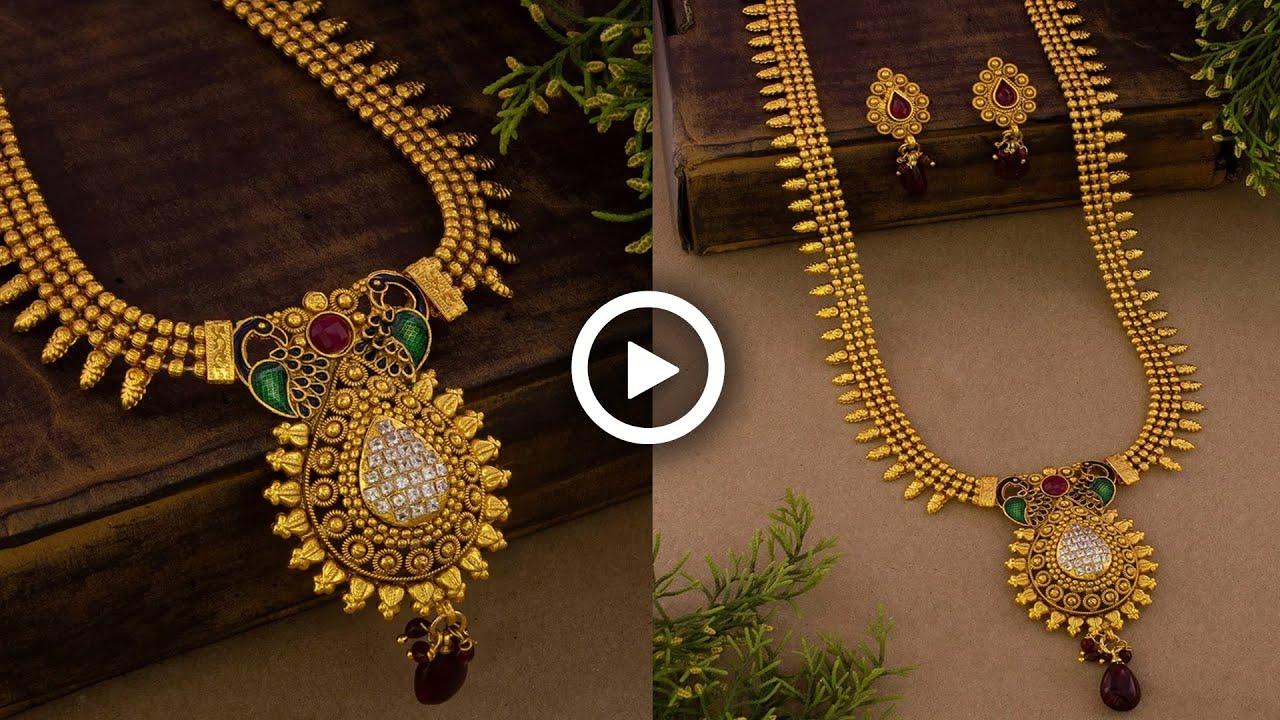 Latest 1 Gram Gold Jewelry With Price👈