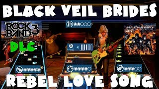 Black Veil Brides - Rebel Love Song - Rock Band 3 DLC Expert Full Band (December 13th, 2011)