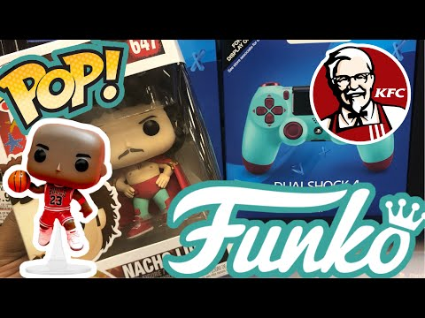 Back at it.. First Funko Pop Hunt of 2019!!! (Tip for Michael Jordan and Colonel Sanders Pop)