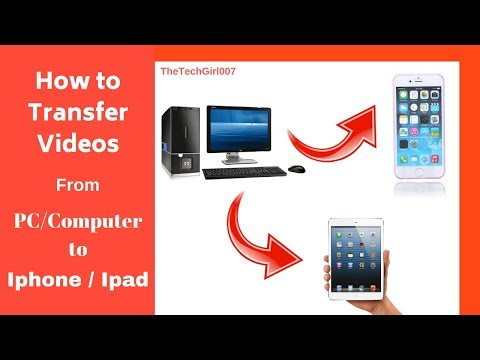 Simple & Easy Way To Transfer Video From PC To Ipad Or Iphone