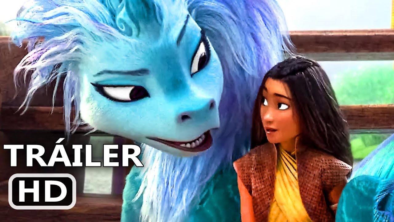 Raya Y El Ultimo Dragon Trailer Espanol Doblado 3 Nuevo 2021 Disney Youtube