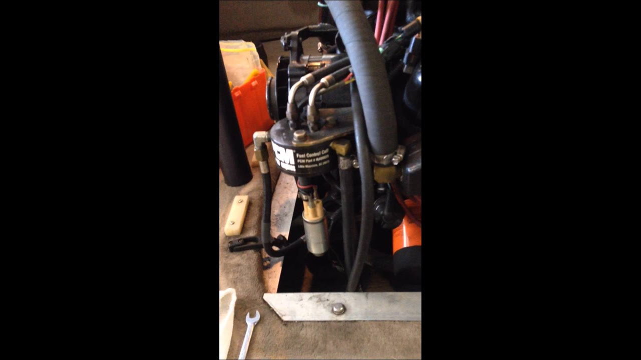 small resolution of 98 correct craft ski nautique gt40 pcm pro boss fuel cell filter change chris scher