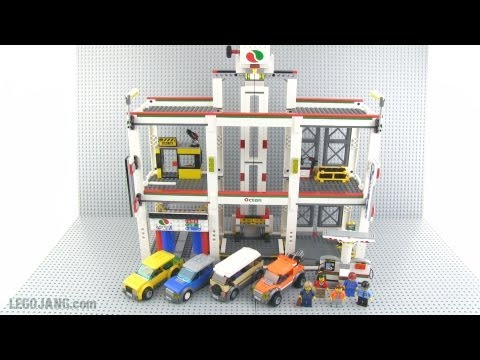 LEGO City Garage 4207 review!