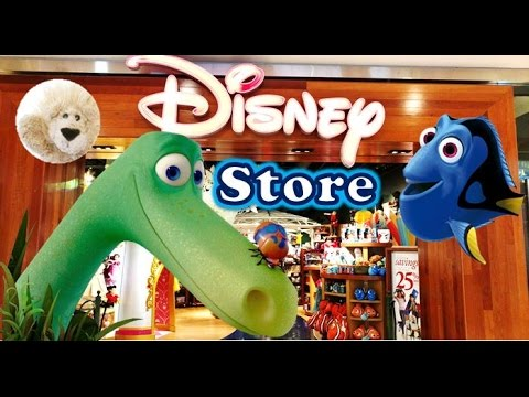 Disney Store Shopping Sales New Toys Finding Dory Nemo Tsum Tsums