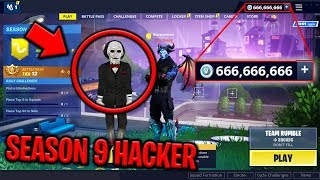 The Season 9 HACKER Joined my Lobby in Fortnite and THREATENED ME! (JENSENSNOW!?)