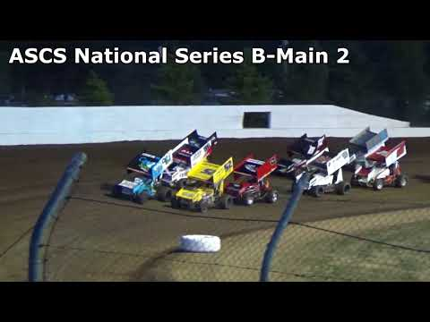 Grays Harbor Raceway, 2018 Fred Brownfield Classic, Night 1, ASCS National Series B-Main 1 and 2