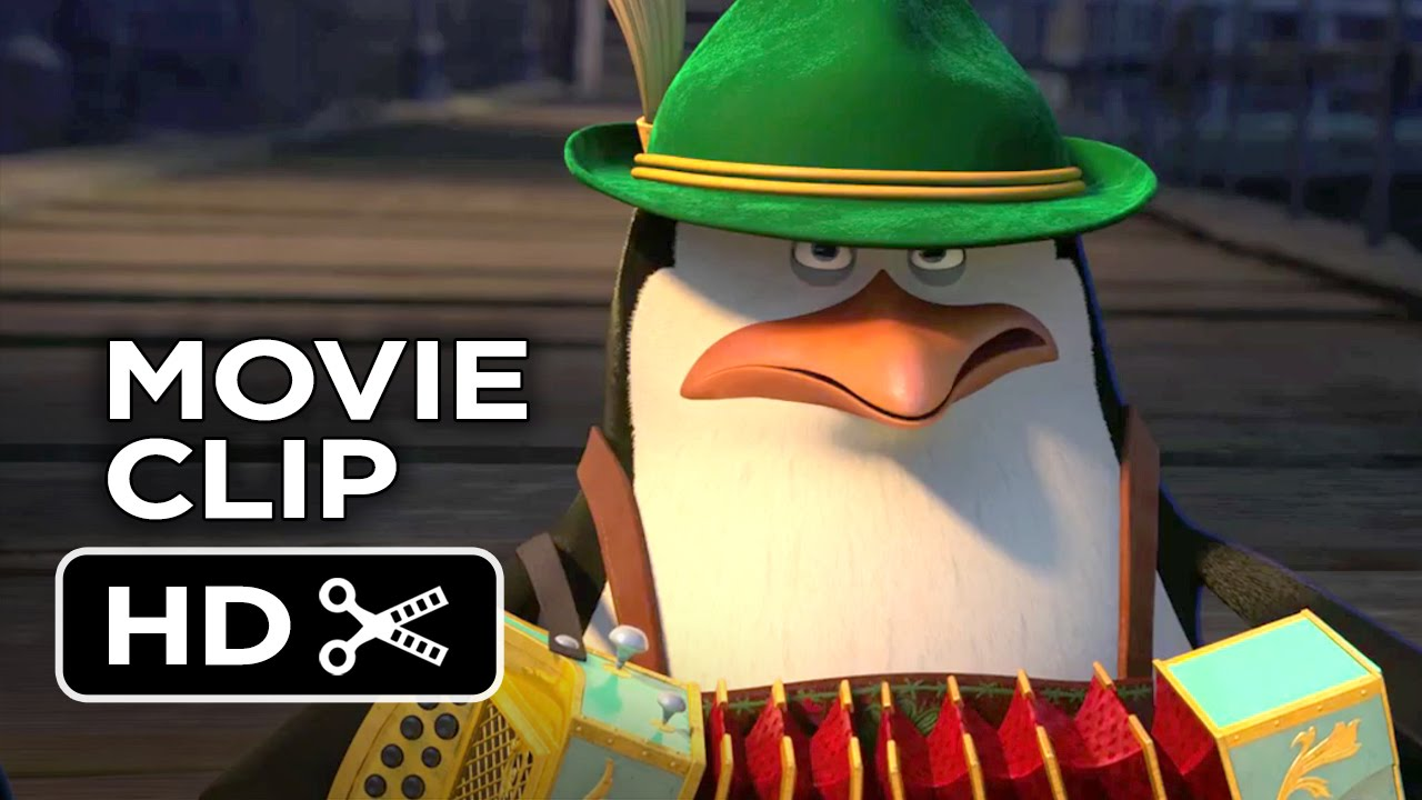 Penguins of Madagascar Movie CLIP - Slap Dance (2014) - Animated Movie HD