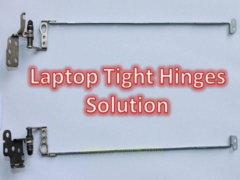 Laptop tight hinge Repair || Laptop not opening smoothly