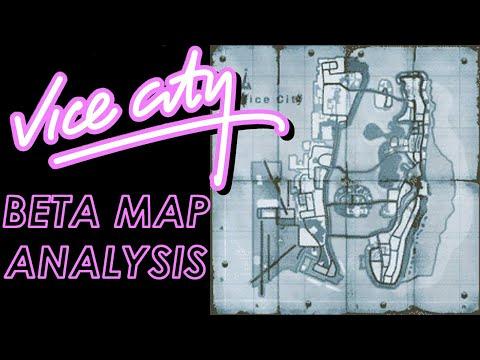 GTA Vice City Beta Map Analysis