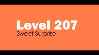 Candy Crush Saga level 207 Help,Tips,Tricks and Cheats