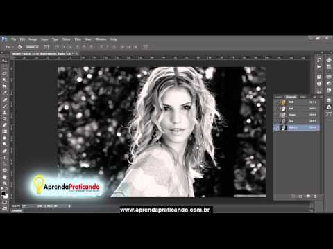 Aula Photoshop CC - Como trocar de fundo sem plugin - parte 1