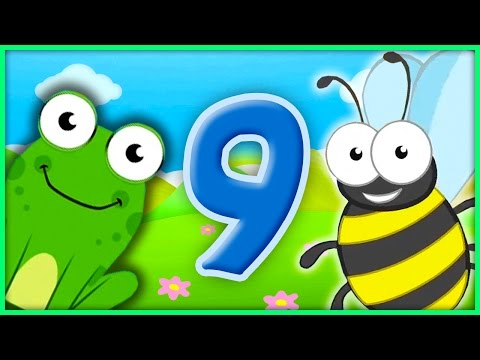 The Number 9 | Number Songs By BubblePopBox | Learn The Number Nine