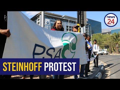 WATCH: Protesters demand punishment for Steinhoff culprits