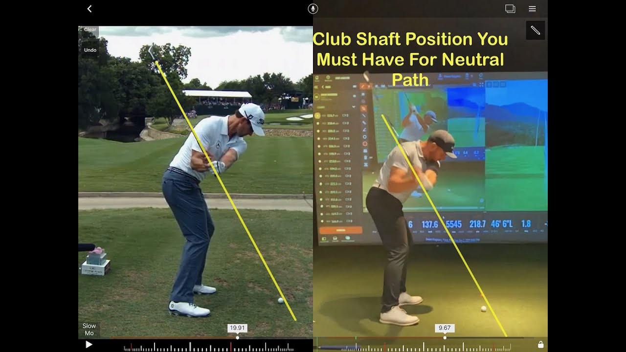 You Need This Angle For A Neutral Club Path