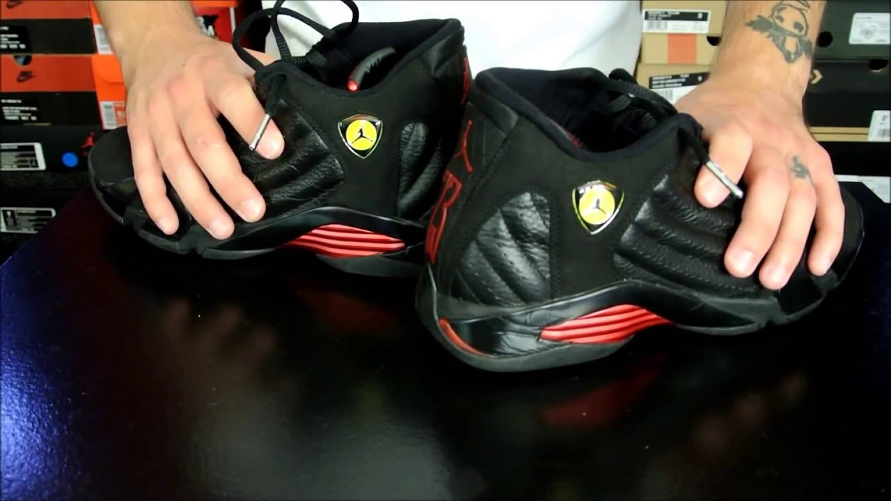17978fc3b84 Air Jordan Project Air Jordan XIV 14 Retro Performance Review - YouTube