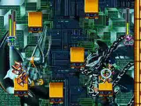 ROCKMAN X6 - Blade Armor VS Gate