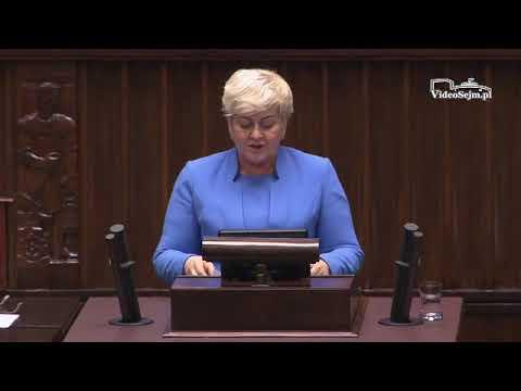 Małgorzata Pępek – wystąpienie z 12 grudnia 2017 r.