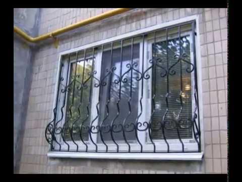 Сварные конструкции: решетки на окна